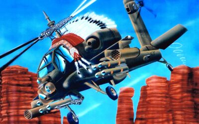 Aeromania: Boeing AH 64 Apache