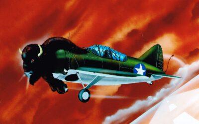Aeromania: Brewster F2 Buffalo