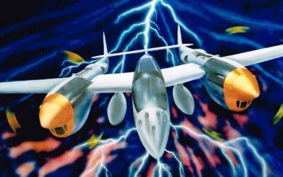 Aeromania: Lockheed P-38 Lightning
