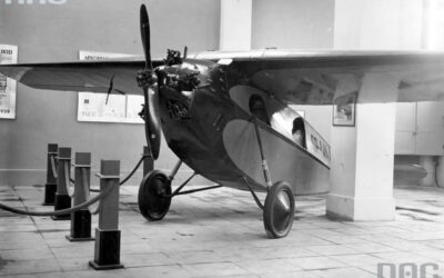 RWD-3 aircraft with Genet engine and Szomański propeller